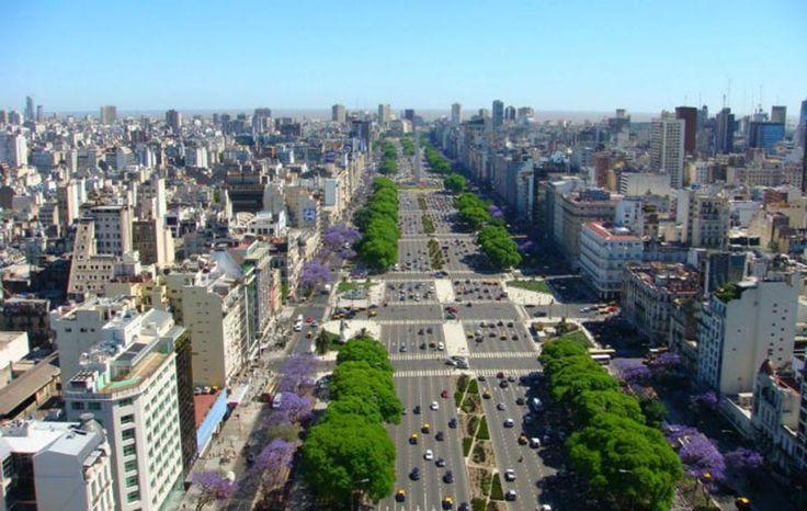 Сложная дорожная развязка в Аргентине, Буэнос-Айрес