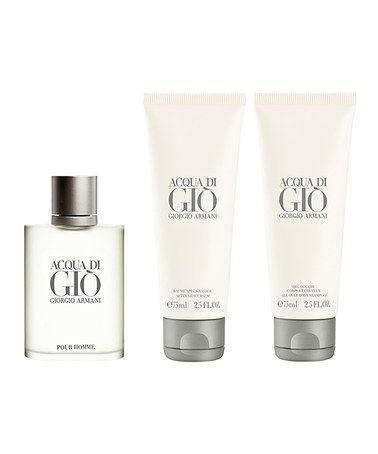 This Acqua di Gio Three-Piece Fragrance Set - Men is perfect! #zulilyfinds