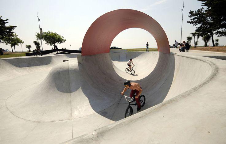 phytolab skatepark saint-nazaire front de mer parc paysager aménagement urbain