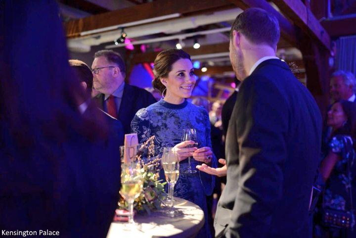 Duchess Kate: She Wore Blue Velvet: Kate in Erdem for Glamorous Stockholm Reception!