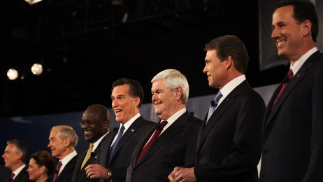 Republican Primary Presidential candidates for 2012