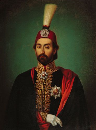 ottoman Sultan Abdülmecid 1839-1861.