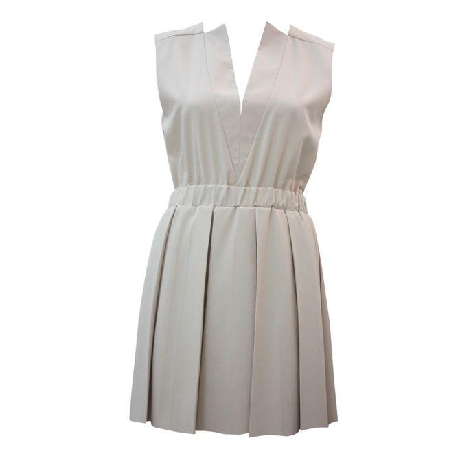 Beige Dress Long Sleeve Sorcha | Apparel | Upstored
