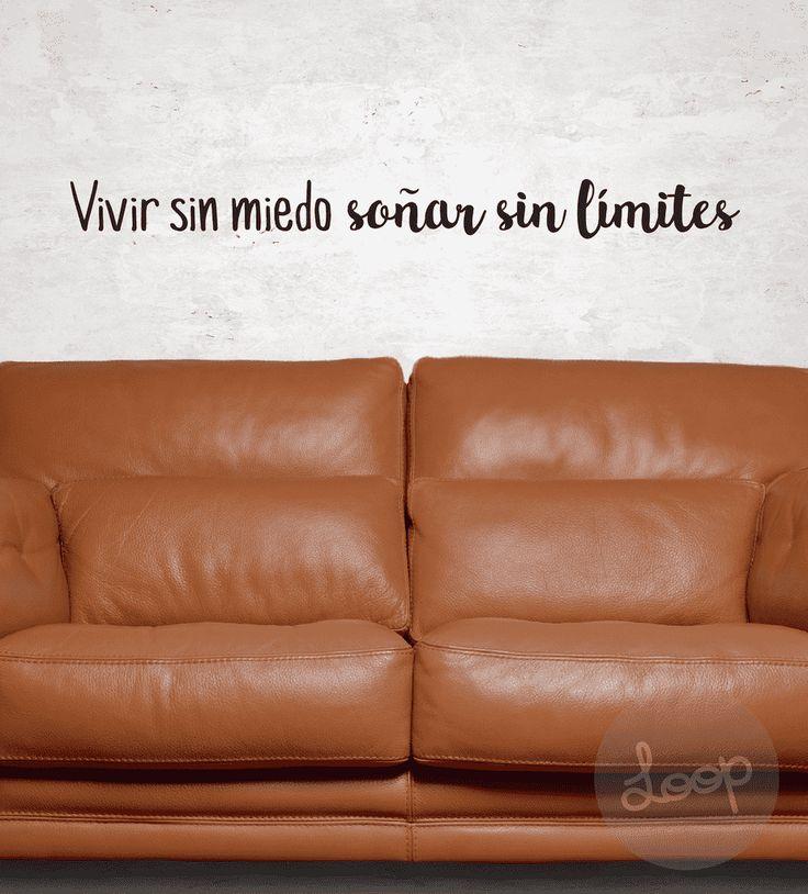 """VINILO """"Vivir sin miedo..."""" - cosaslindasloop"""