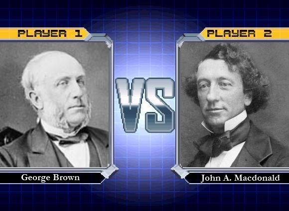 Despite the fact that George Brown and Sir John A. Macdonald hated one another, the two were able to come together for Confederation purposes. What started the feud and were they ever able to resolve their issue? #canadianhistory #cdnhistory