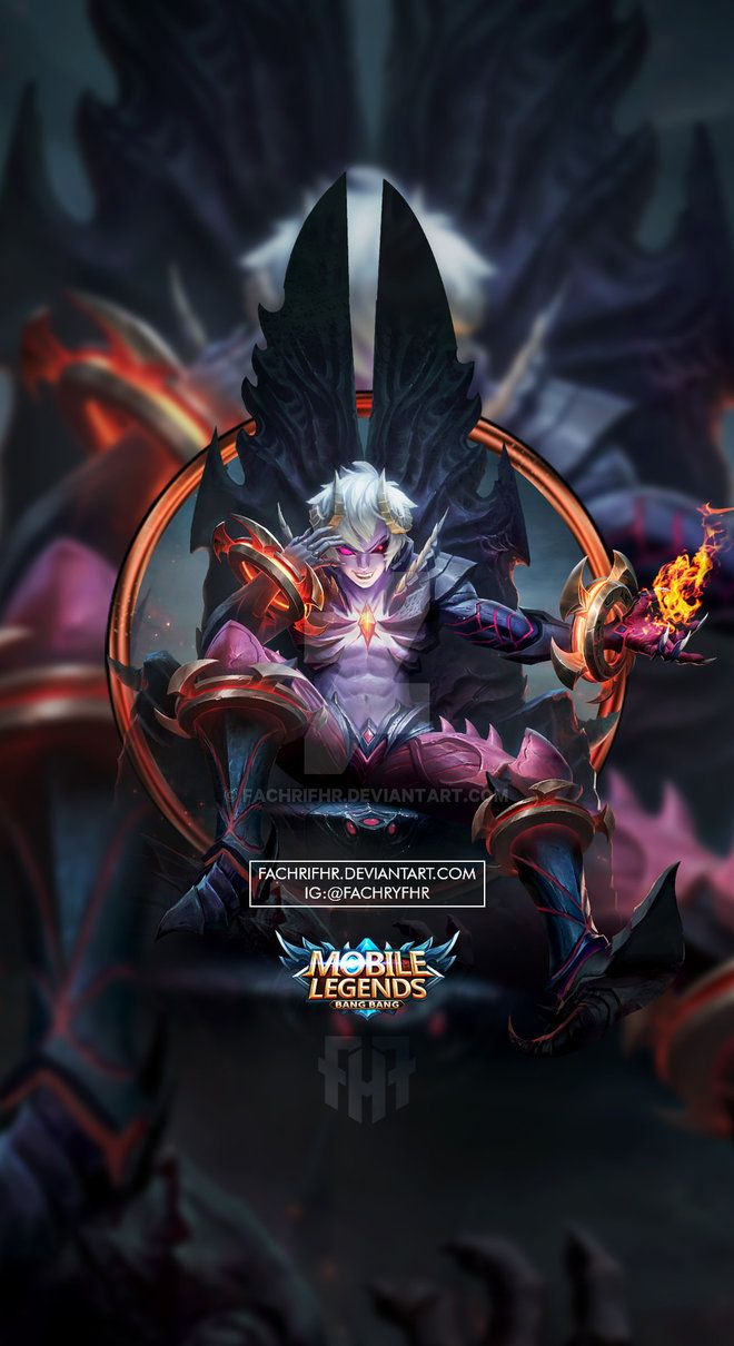 Wallpaper Phone Dyroth Prince Of The Abyss By FachriFHR