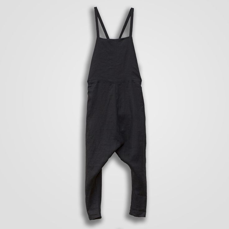Dropped Overalls Black – Faircloth & Supply
