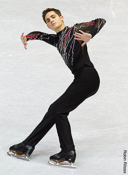 Joshua Farris competing his short program in the 2012 Junior Grand Prix Lake Placid.