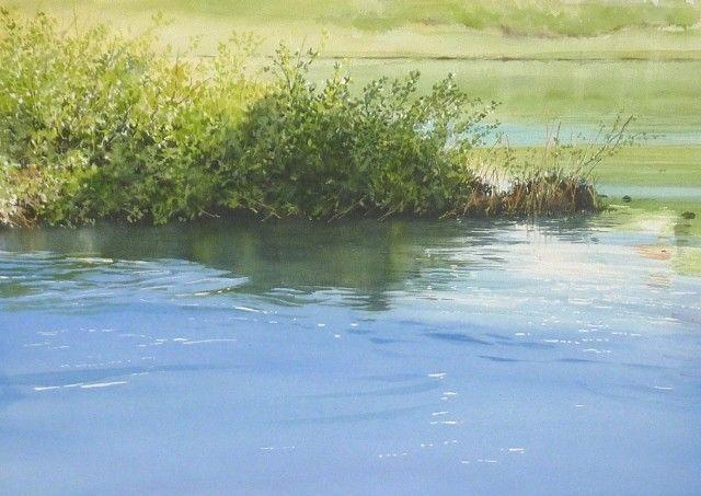 春の水彩画帖 Spring - あべとしゆき水彩画ギャラリー