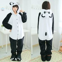 2015 Hot venta Kung Fu Panda Unisex pijama de franela navidad con capucha traje Cosplay Animal Onesies invierno ropa de dormir adultos(China (Mainland))