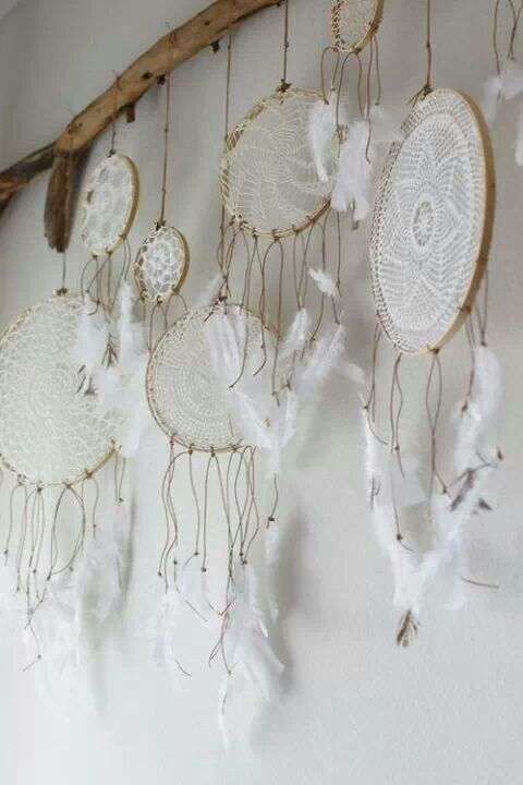 Doilie Dream Catchers