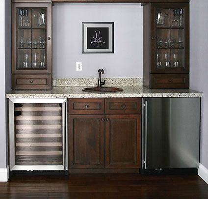 Nice wet bar appliances high end appliances pinterest for Bar with cabinets under