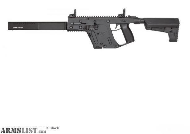 ARMSLIST - For Sale: Kriss Vector CRB Carbines (Various Cals. & Colors Avail.) NIB