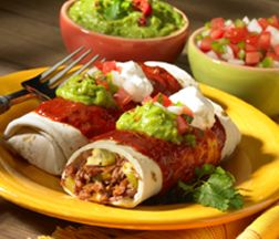 Qué Bueno! Wet Burritos - A family favorite for Mexican food lovers