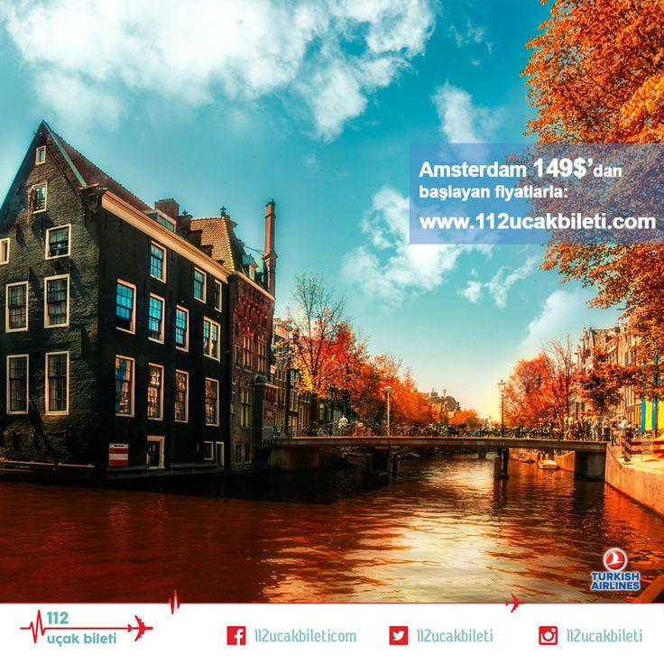 #Sonbahar'da #Avrupa bir başka #güzel. Turuncu, kırmızı ve kahverenginin hiç alışkın olmadığınız tonlarıyla karşılaşmaya hazır mısınız? #tatil #uçakbileti #bayram