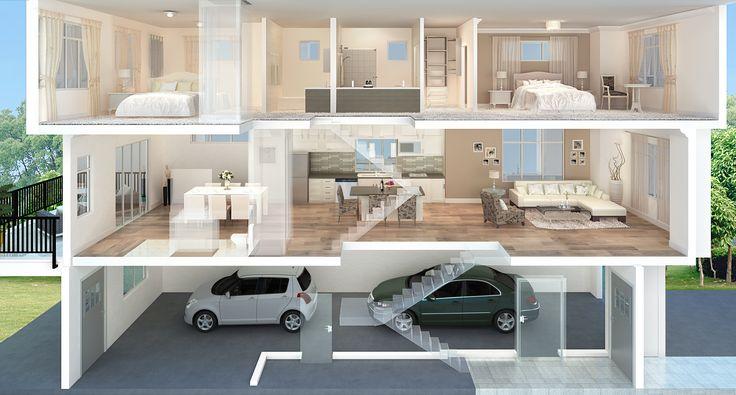 17 best images about 2 bedroom apartment floor plan on Amazing 3d floor design