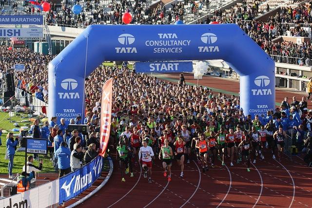 TCS Amsterdam Marathon. Weer een nieuwe poging: 19 oktober 2014!