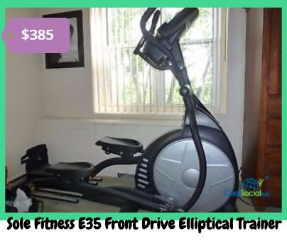 Sole Fitness E35 Front Drive Elliptical Trainer for more details visit http://coolsocialads.com/sole-fitness-e35-front-drive-elliptical-trainer-38095
