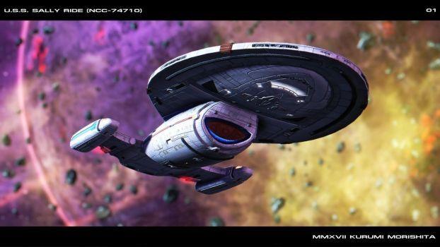 U.S.S. Sally Ride (NCC-74710) #01 by Kurumi-Morishita