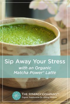 Make a delicious organic matcha latte. Measure out 1 teaspoon of our Organic Matcha Power�, add 1 tablespoon of hot water and stir until dissolved. Next add _ cup heated milk, 1/8 teaspoon organic cinnamon, and _ teaspoon organic vanilla extract. Froth vigorously and enjoy! Shop our Matcha Powder today.
