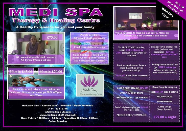 #medispa #beauty #massage #deals #specials #nails #NSI #sheffield #private #pool #nature #therapy #healing #massage #camping #brithdayparties Come check out our new specials , you can book and pay online 24/7