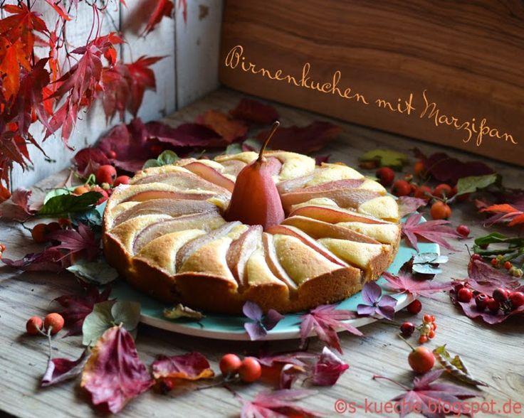 S-Küche: Birnenkuchen mit Marzipan