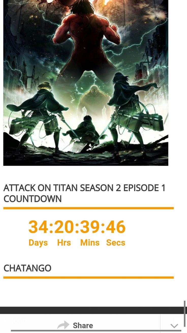 Shingeki no Kyojin | Attack on titan, Countdown, Favoriten