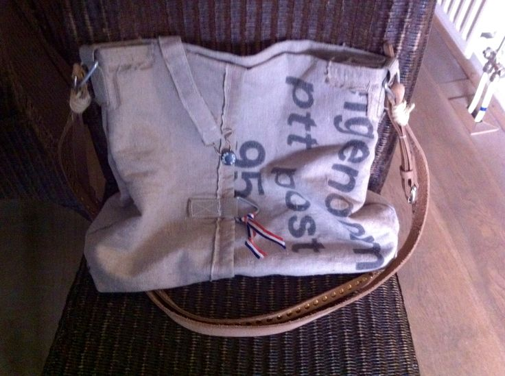 Tas van oude postzak