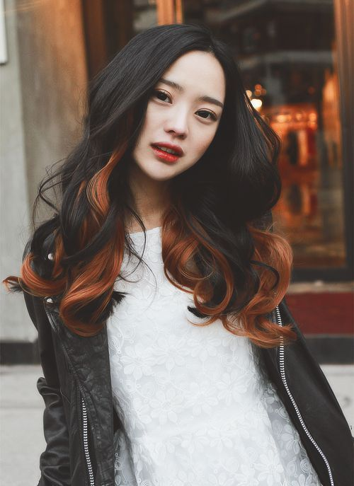 Oooooooo pretty. If I had thick dark asian hair I would totally do this.