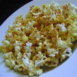 Popcorn Seasoning With Brewer's Yeast, Garlic Salt, Celery Salt, Paprika, Ground Cumin, Curry Powder, Cayenne Pepper