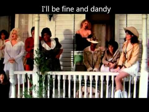 """""""Hard Candy Christmas"""" (Dolly Parton, from the movie """"Best Little Whorehouse in Texas""""-- a lovely movie, despite the name!)"""