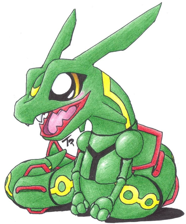 Pin by Tudor Labadin on Pokemon!   Pokemon rayquaza, Chibi ...