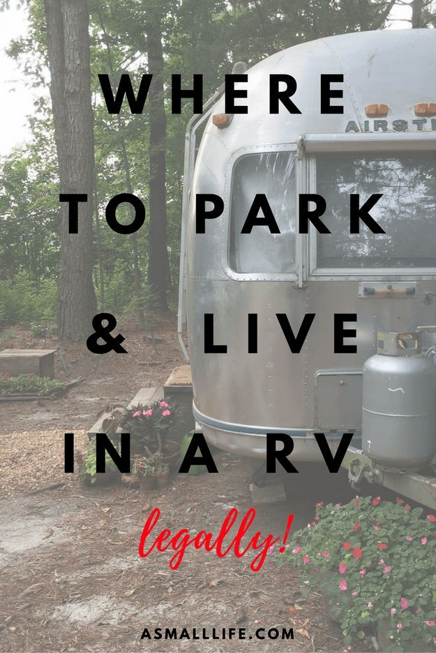 Where To Park And Live In A RV Legally