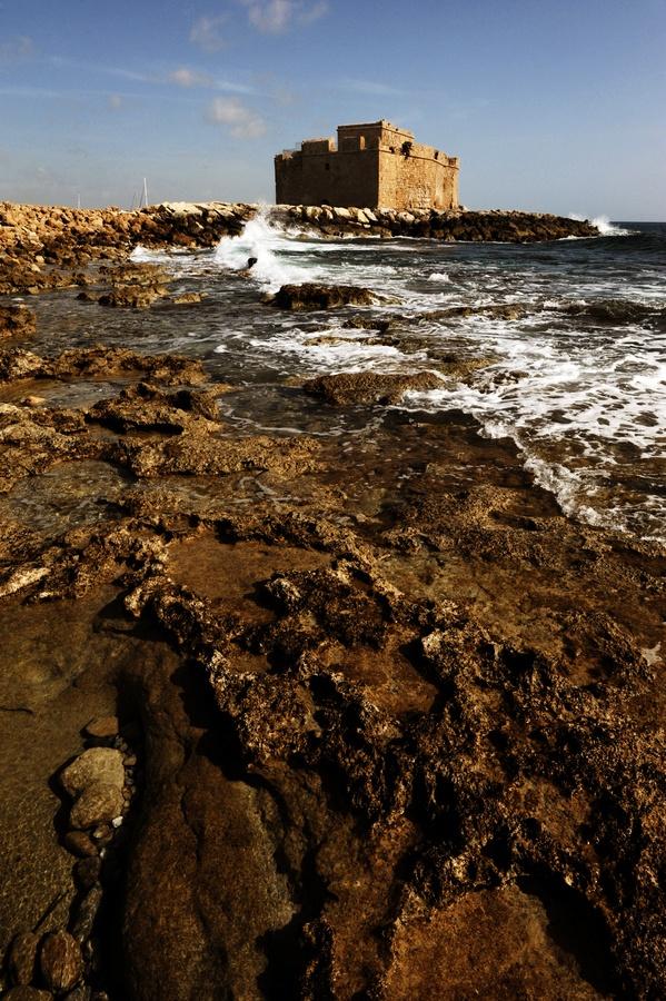 seen - Paphos Castle, Cyprus