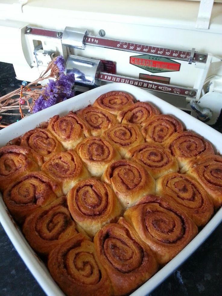 Cinnamon rolls ou bioche roulée à la cannelle: recette