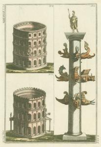 [Amphitheatres and column of Duilius] (1810)