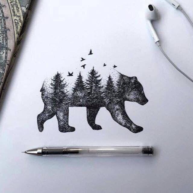 This would make a rad California tattoo.