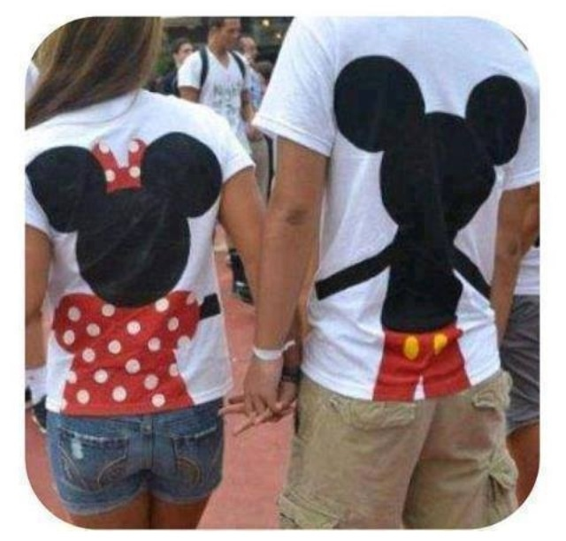 SO CUTE! I have a new obsession with Minnie mouse and Mickey mouse!