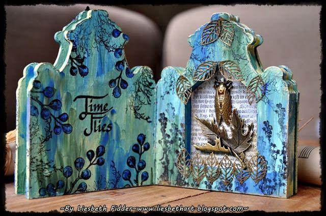 Liesbeth's Arts & Crafts: Boardbook