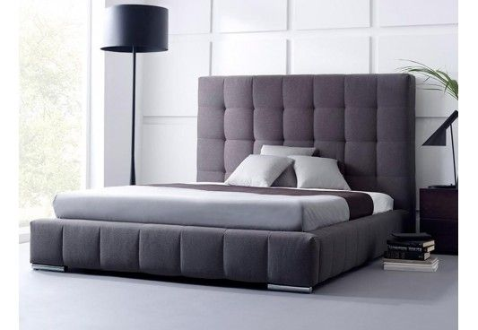 Shop Wagner Upholstered Bed online available in Queen Size with nice shade of grey. The contemporary style of upholstered beds make enticing presence in the bedroom and have stunning impact on the interiors. Buy fabric bed online in #Bangalore #Chandigarh #Noida