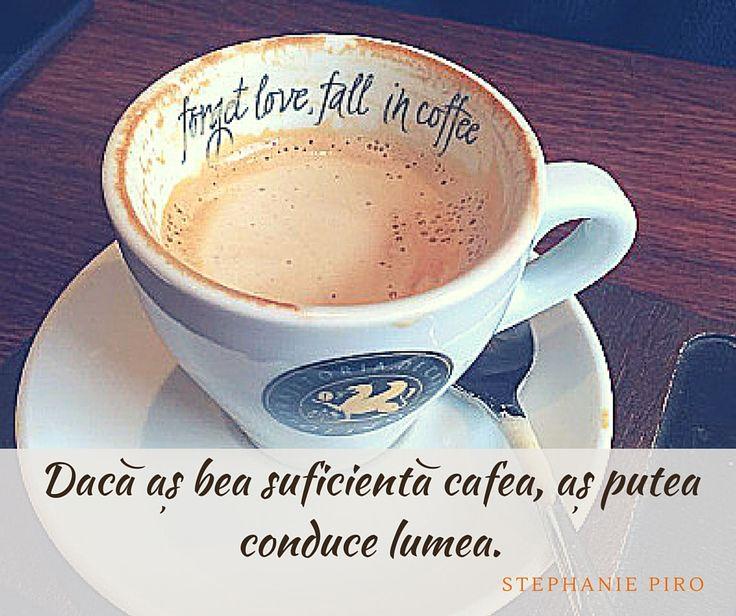 O cafea bună poate întotdeauna să-ți dea superputeri.