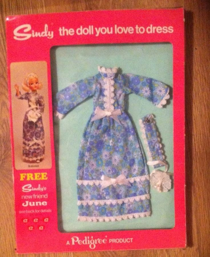 VINTAGE 1973 BOXED SINDY BRIDESMAID OUTFIT 12S209 NEVER PUT ON DOLL in Dolls & Bears, Dolls, Clothing & Accessories, Fashion, Character, Play Dolls   eBay