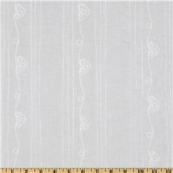 Fabric idea: Pintuck with delecate scrolling hearts. Beautiful fabric for a baby's nursery.