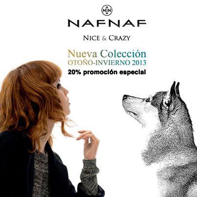-20% en toda la colección Naf Naf ¡Sólo 24h!
