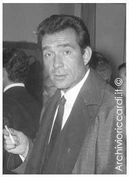 Ugo Tognazzi fotografato da Carlo Riccardi - su http://www.archivioriccardi.it