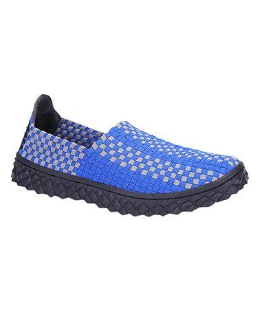 This Royal Blue Woven Loafer is perfect! #zulilyfinds