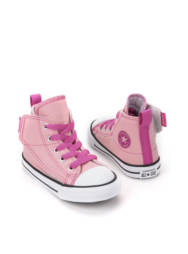 Converse Chuck Taylor All Star Simple Step Hi sneaker  Description: Converse Chuck Taylor All Star Simple Step Hi sneakers in het roze. Deze half hoge meisjesschoenen zijn gemaakt van textiel en hebben een kunststof zool.  Price: 26.95  Meer informatie