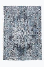 Ellos Home Bomuldstæppe Bellary 200x300 cm Blå - Bomulds- & kludetæpper | Ellos Mobile