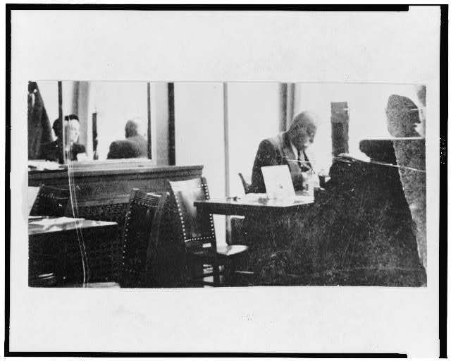 Gurdjieff working in a cafe.