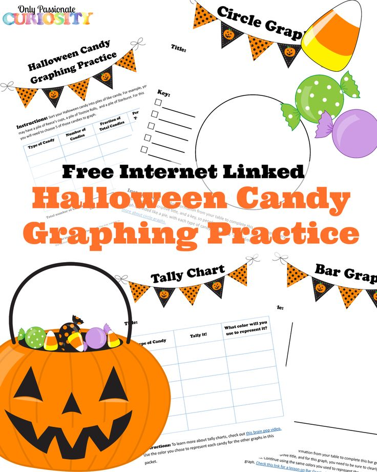 Halloween is tomorrow, which means next week, school is pretty much a lost cause. These kids are going to be so hopped up on sugar (and to be honest, I will be too) and no one will be able to concentrate. This year, I am going to fight back by incorporating the candy right into the lesson. I made this graphing activity in the hopes on including all my children on the math fun. It's easily adaptable to their different ages! It includes practice in table making, tally charts, circle graphs,...